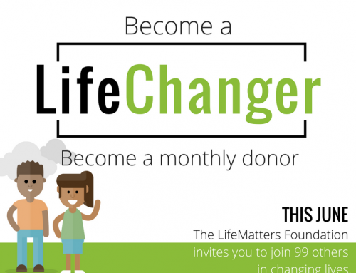 Be part of something BIG: Be a LifeChanger!